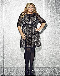 Gemma Collins Lace Skater Dress