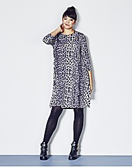 AX Paris Animal Print Swing Dress