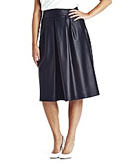 Pu Kick Out Midi Skirt