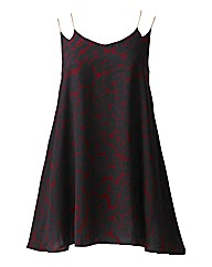 AX Paris Red Animal Print Cami Dress