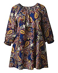 AX Paris Gypsy Swing Tunic Dress