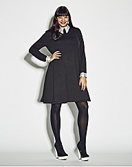 AX Paris Lace Cuff And Collar Dress