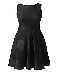 AX Paris PU Skater Dress