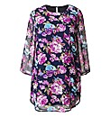 AX Paris Floral Print Tunic Dress