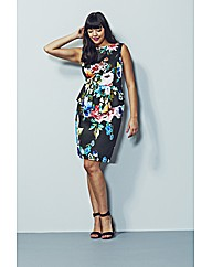 AX Paris Print Peplum Dress