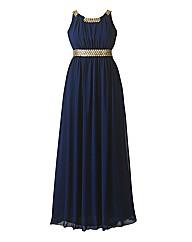 Chi Chi Embellished Waist Maxi Dress