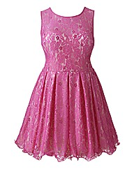 Chi Chi Lace Overlay Prom Dress