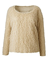 Simply Be Fluffy Knit Jumper