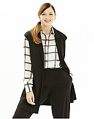Simply Be Sleeveless Boyfriend Blazer