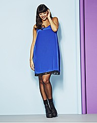 Longline Cobalt Blue Cami Dress