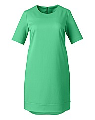 Simply Be Tunic Dress With Dip Hem