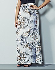 Simply Be Printed Maxi Skirt