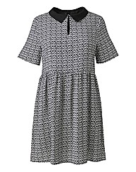 Alice And You Scarf Print Dress