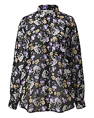 Alice And You Oversized Floral Shirt