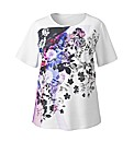 Simply Be Floral Print T Shirt