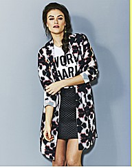 Simply Be Printed Soft Duster Jacket