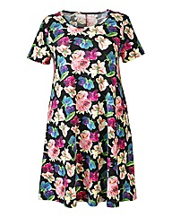AX Paris Multi Floral Swing Dress