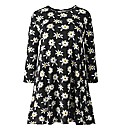 AX Paris Daisy Print Swing Dress