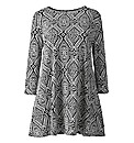 AX Paris Geo Weave Swing Dress
