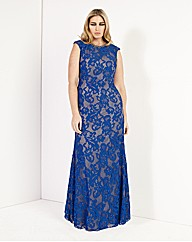 Forever Unique Regina Lace Maxi Dress