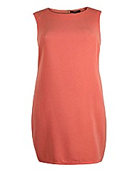 Koko Salmon Sleeveless Pencil Dress