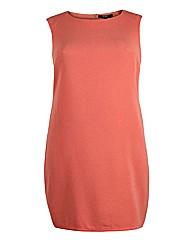 Koko Salmon Sleeveless Pencil Dress