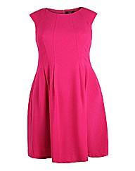 Koko Pink Sleeveless Skater Dress