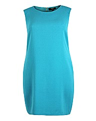 Koko Aqua Sleeveless Pencil Dress