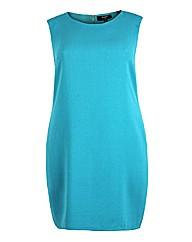 Koko Aqua Sleeveless Pencil Dress