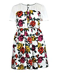 Koko Multi Floral Print Dress