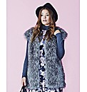 Simply Be Faux Fur Gilet
