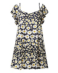 AX Paris Gypsy Style Daisy Swing Dress
