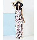 Simply Be Printed Maxi Dress