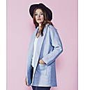 Alice And You Blue Boyfriend Coat