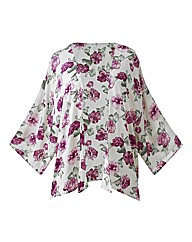 Alice And You Pink Floral Kimono