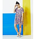 Simply Be Multi Feather Smock Dress