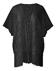 AX Paris Black Lace Kimono