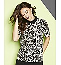 Simply Be Animal Print Top