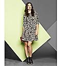 Simply Be Animal Print Skater Dress