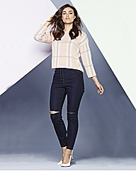 Simply Be Ripped Slim Leg Jeans
