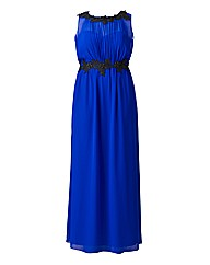 Little Mistress Blue Maxi Dress