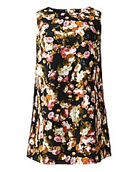 Alice And You Dark Floral Tunic Dress