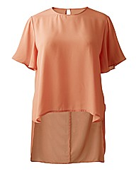 Alice And You Orange Shell Top
