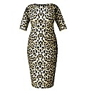 AX Paris Leopard Print Bodycon Dress