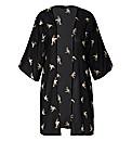 AX Paris Chiffon Bird Print Kimono
