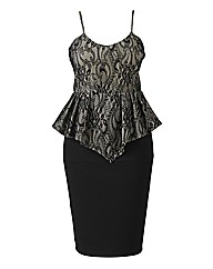 AX Paris Peplum Lace Dress