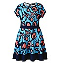 AX Paris Blue Pink Skater Dress