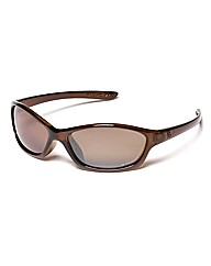 F-Polarised Winged Wrap Sunglasses