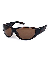 F-Polarised Chunky Wrap Sunglasses