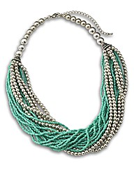 Malissa J Multi Bead Necklace